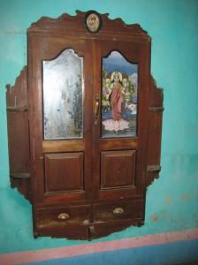 A wall cupboard