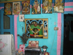 Every home, office and shop has a shrine