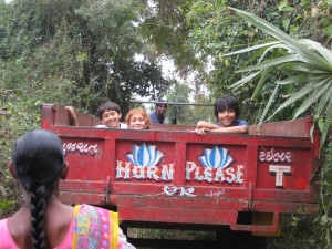 and off they went into the jungle...